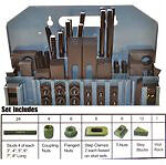 58 pc Deluxe Steel Clamping Kit