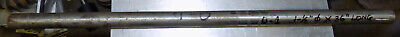 O-1 O1 Oil Hardening Tool Steel Round Rod Bar Stock 1-12 Diameter X 36 Long