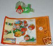 """""""Weihnachtswichtel"""" 2005 Tesaroll-Wichtel OVP mit BPZ """"D"""""""