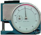 12 Pocket Dial Thickness Gage Gauge Paper Mic Micrometer Accuracy 0.001