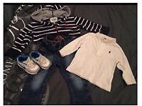 Boy designer outfit