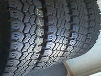 4 LT 275 65R18 NITTO GRAPPLER M&S  10 PLY M&S TIRES