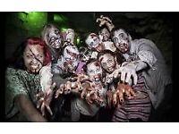 Zombie SWAT apocalypse experience team building fun activity gift Xmas 10 December Greenwich London