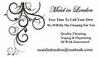 Cleaning Service MAID IN LONDON
