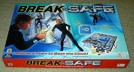 """2003 Mattel """"Break The Safe"""" Cooperative Game-new condition"""