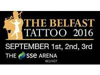 Belfast Tattoo Tickets For Sale - 1 September