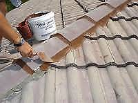 Tile Roof Re-pointing and Re-bedding Roof Painting or Guttering