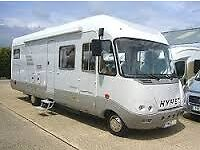 WANTED LHD HYMER S740 OR S820 MOTORHOME