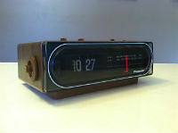 8fcd39ffce9a8 Back In Time - Another Panasonic Flip Clock of considerable collectors   interest is the RC-6015.