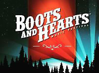 2015 BOOTS & HEARTS - Group Package!!  6 passes + camping
