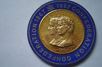 Canadian Confederation 1867-1967 Centenial Silver Coin