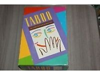 TABOO -The game of unspeakable fun. Ideal for Christmas!