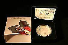 2007 Canada $25 Sterling Silver Hologram Coin - Olympic Curling.