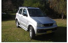 2003 Daihatsu Terios Verona Bega Valley Preview