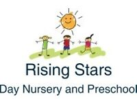 Nursery Manager - Rising Stars Day Nursery and Preschool