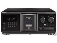 Sony Multi CD Player CDP-CX355 with Remote