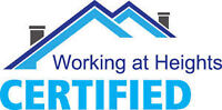 """#1 CERTIFIED TO WORK @ HEIGHTS/INSURED FOR: """"EXTERIOR PAINTING""""."""