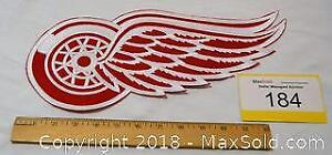 DETROIT RED WINGS embroidered large hockey jacket crest