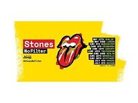 2 x Rolling Stones No Filter Tickets - Twickenham Block L4 - selling at Face Value
