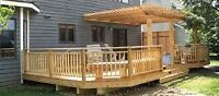 WE BUILD DECKS AND FENCES! WE OFFER AFFORDABLE RATES!