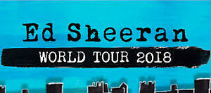 Ed Sheeran Tickets Toronto - Fri August 31st