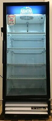 True Gdm-12 Glass Door Refrigerator Cooler Government Surplus Nice Unit
