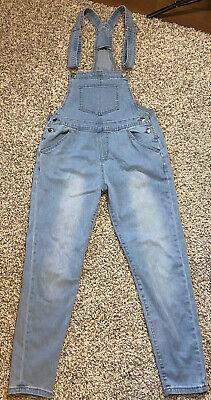 Vintage Overalls & Jumpsuits Women's Denim Overalls Distressed Cotton Blend Size Small Unbranded $21.15 AT vintagedancer.com