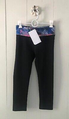 Fabletics Salar Capri Fold Waist Leggings Black Size  XXS NWT