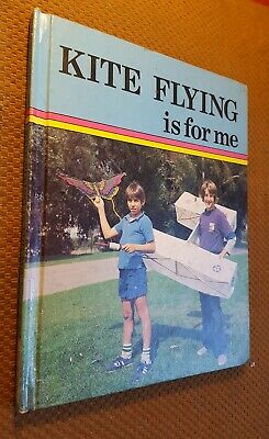 Kite Flying Is for Me   by Tom Moran Vintage Hardcover Book Flying Kite Book