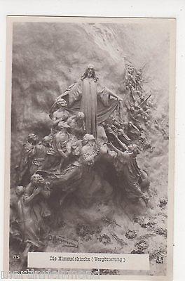 Die Himmelskirche (Vergotterung), Religion Art Postcard, B522