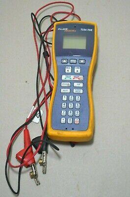 Fluke Networks Ts54 Premium Tdr Voice And Data Test Set Ts 54