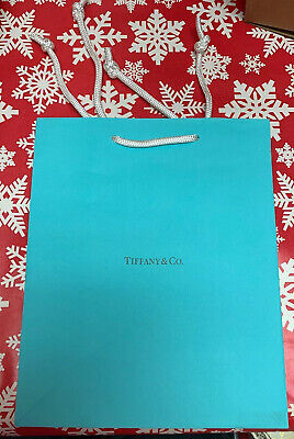 Tiffany Blue Gift Bags (Tiffany & Co. Paper Shopping Gift Bag - Authentic - Empty -)