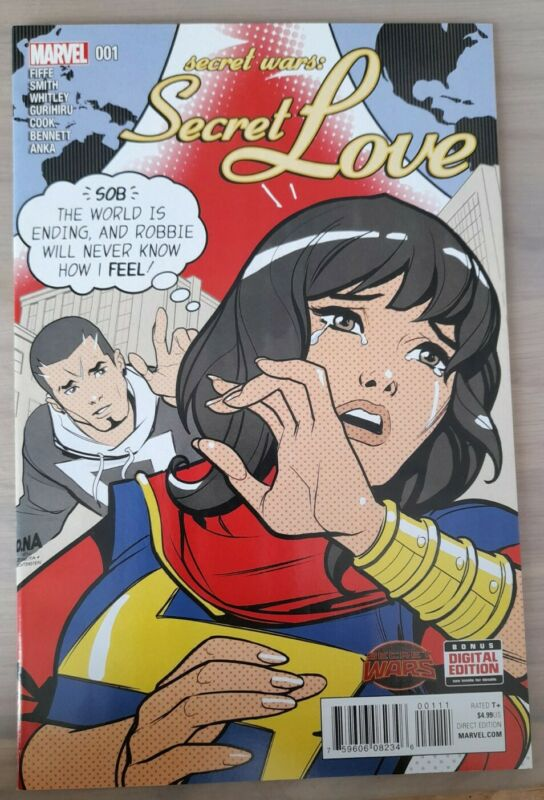 SECRET WARS: SECRET LOVE #1 (2015) 1ST PRINT KAMALA KHAN MS. MARVEL NM.