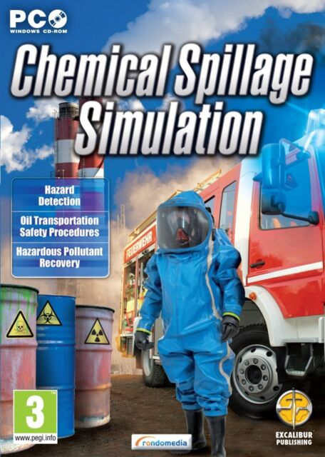 Chemical Spillage Simulator (PC DVD) NEW & Sealed