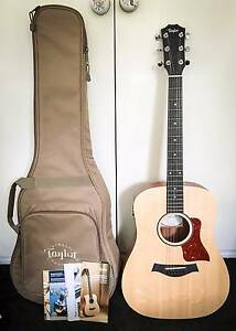 MINT - TAYLOR Big Baby Ac/Elec Guitar WITH 2 Cases and Accs. Surfers Paradise Gold Coast City Preview