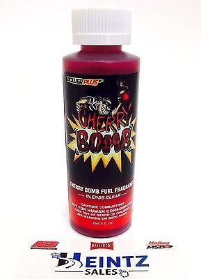 Power Plus Lubricants Cherry Bomb Fuel Fragrance for Car, Motorcycle, ATV, IMCA