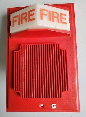 Simplex 2902-9735 Wall Mount Fire Alarm Speakerstrobe Light
