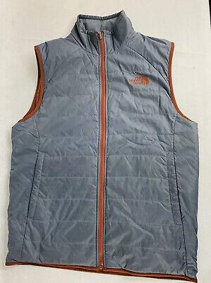 The North Face Men's Reversible Fleece / Primaloft Vest Men's Size Small -