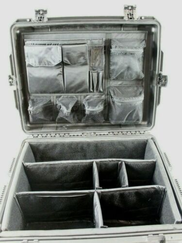 Pelican iM2720 Storm Case Padded Insert / Dividers with Lid Organizer (Black)