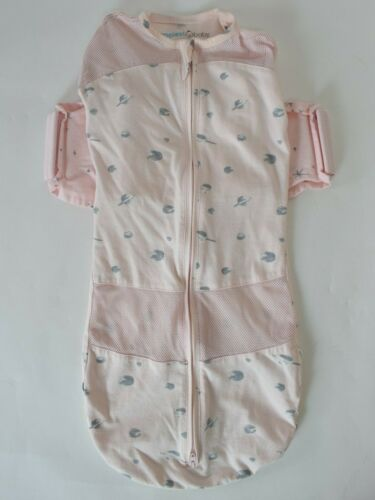 Snoo Sleep Sack Happiest Baby Organic Cotton Medium 2-4 Months 12-18 lbs Pink