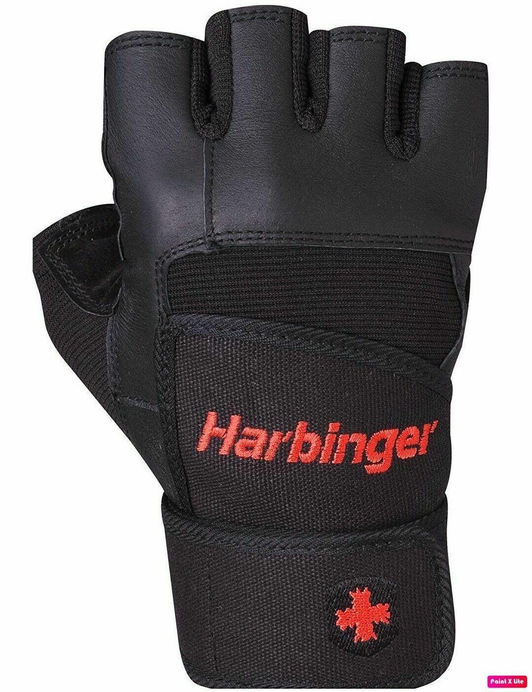 NWOT Harbinger Wristwrap Pro Gloves Weight Lifting Gym Wrist