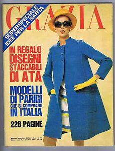 GRAZIA-N-1362-1967-MODA-SPOSA-Romualdo-BORLETTI-MODA-Da-PARIGI-Madame-Rochas