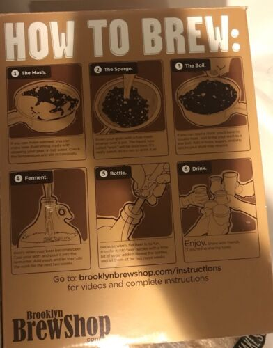 Brooklyn Brew Shop Beer Brewing Making Kit, Everyday IPA Brewery DYI 2 Left