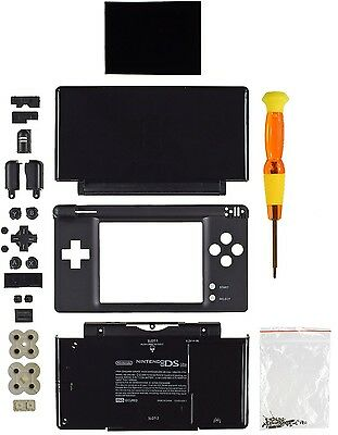 Nintendo DS Lite Replacement Case/Shell/Housing [Black] Nds Lite Replacement Shell