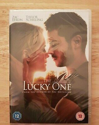 Ref 371 - NEW & SEALED, The Lucky One DVD - Romance / Love Film With Zac (Zac Efron Love Movie)