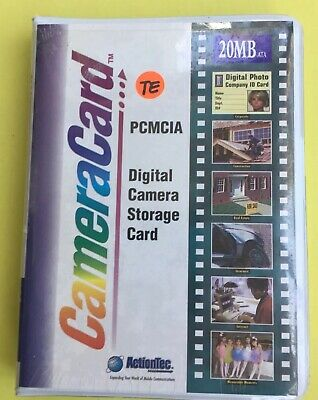 ActionTec CameraCard Digital Camera Storage Card 20MB New