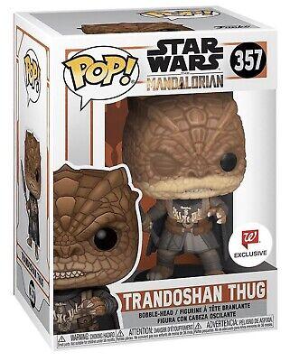 Funko Pop Star Wars Mandalorian Trandoshan Thug Walgreens Exclusive Yoda Boba
