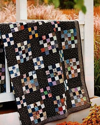 Mourning Glory Quilt Pattern Pieced MK