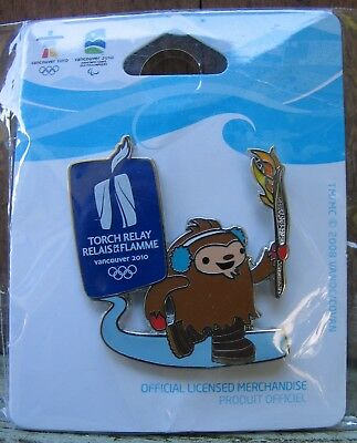 Torch Relay VANCOUVER 2010 OLYMPIC PIN NEW for sale  Surrey