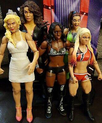 WWE Mattel Womens Division Figure Bundle Lana Nia Jax Bayley Alexa Bliss Naomi